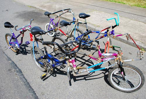 A Fun Photo Tour Of Some Silly And Clever Bikes Bicycles